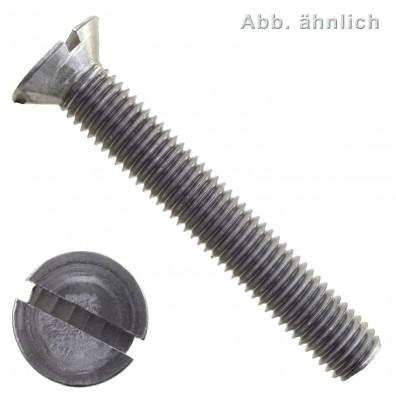 Senkschrauben DIN 963 - Schlitz - Stahl