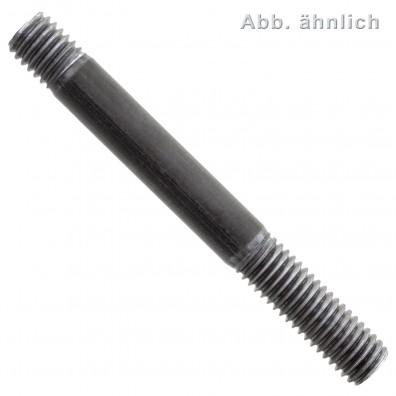 10 Stiftschrauben DIN 939 5.8 M24 x 180 mm