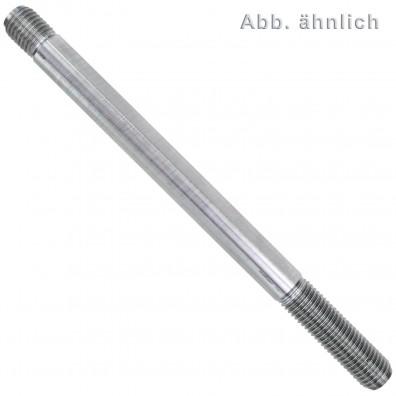 10 Stiftschrauben M16 x 80 mm - DIN 939 - blank 10.9