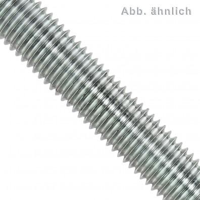 1 Gewindestange M10 x 1000 mm - Stahl 4.6, verzinkt - DIN 976
