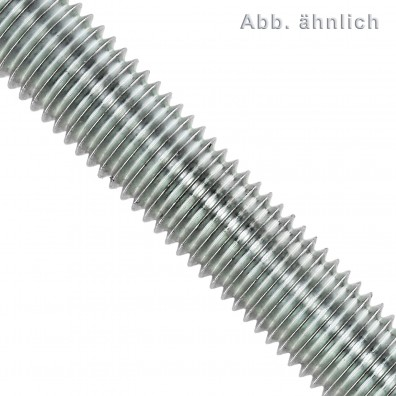 1 Gewindestange M6 x 1000 mm - Stahl 4.6, verzinkt - DIN 976