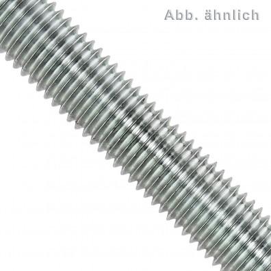 1 Gewindestange M22 x 1000mm, DIN 976-975, galvanisch verzinkt, 8.8