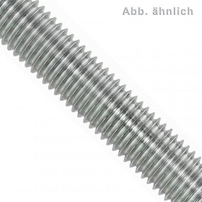 Gewindestange DIN 975/976 - 1000 mm - Normalgewinde - galvanisch verzinkt - Festigkeitsklasse 5.6