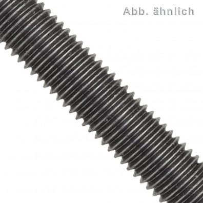 Gewindestange DIN 975 - 1000 mm - Linksgewinde - Festigkeitsklasse 4.6 - blank