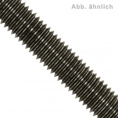 1 Gewindestange M42 x 1000 mm - Stahl 10.9 - DIN 976