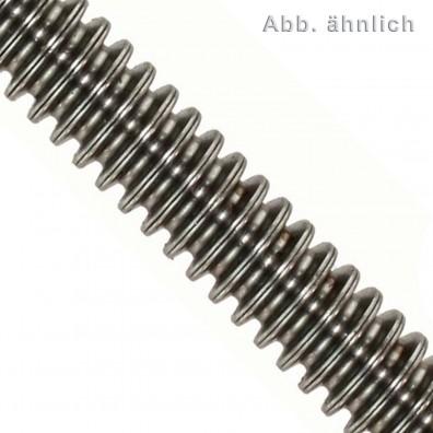 Gewindestange DIN 975 - 1000 mm - Trapezgewinde - Festigkeitsklasse 4.6 - blank