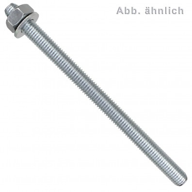 10 FISCHER Ankerstangen FIS A 10 x 110 mm - Stahl - verzinkt - ETA