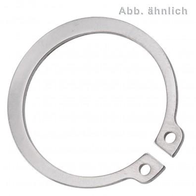 50 Sicherungsringe 25 x 1,2 mm - für Wellen - DIN 471 - Edelstahl 1.4122
