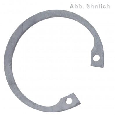 Sicherungsringe für Bohrungen - DIN 472 - zinklamellenbeschichtet