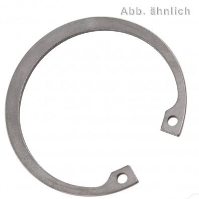 1 Sicherungsring 82 x 2,5 mm - für Bohrungen - DIN 472 - Edelstahl 1.4122