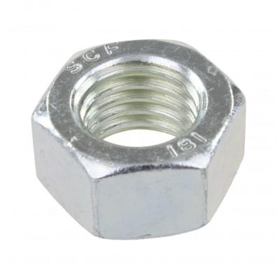 20 Sechskantmuttern - M18 - DIN 934 - galvanisch verzinkt - Festigkeitsklasse 8