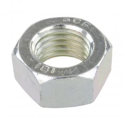 50 Sechskantmuttern - M24 - DIN 934 - galvanisch verzinkt - Festigkeitsklasse 8