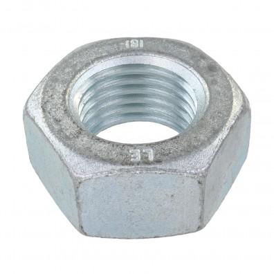 1 Sechskantmutter - M48 - DIN 934 - galvanisch verzinkt - Festigkeitsklasse 8
