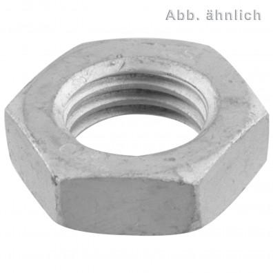 50 Sechskantmuttern M24 - DIN 936 - zinklamellenbeschichtet