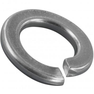 100 Federringe für M10 - Federstahl - galvanisch verzinkt - DIN 127 Form B