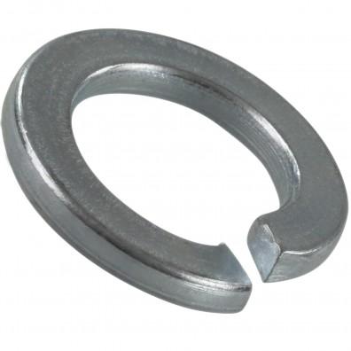 100 Federringe für M12 - Federstahl - galvanisch verzinkt - DIN 127 Form B