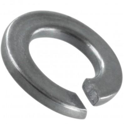 100 Federringe für M3 - Federstahl - galvanisch verzinkt - DIN 127 Form B