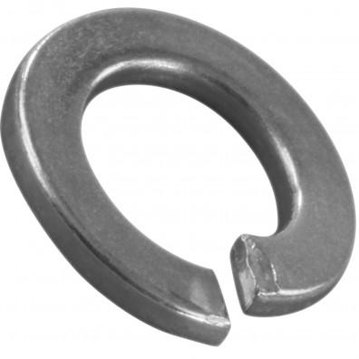 100 Federringe für M4 - Federstahl - galvanisch verzinkt - DIN 127 Form B