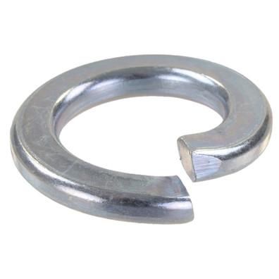100 Federringe DIN 127 galvanisch verzinkt, Stahl,  Form A für M16