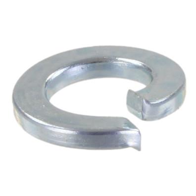 100 Federringe DIN 127 galvanisch verzinkt, Stahl, Form A für M3
