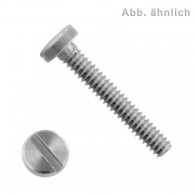 Zylinderschraube mit Schlitz - DIN 84 - Blank gedreht