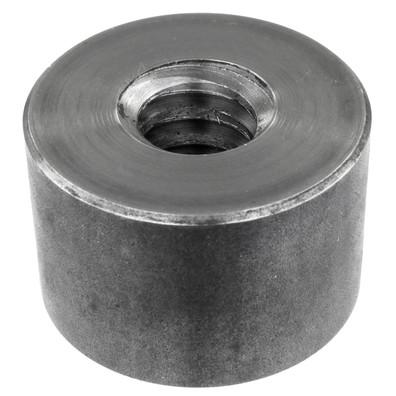1 Rundmutter Stahl Trapezgewinde TR 22 x 5 x D50 x L33