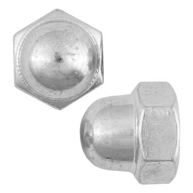 40 Hutmuttern DIN 1587 verzinkt M10