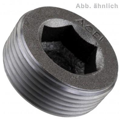 10 Verschlussschrauben DIN 906 kegeliges Feingewinde M36 x 2 mm