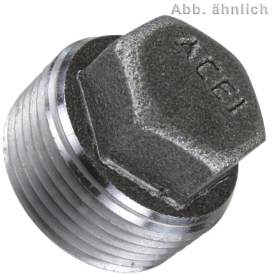 50 Verschlussschrauben M16 - DIN 909 - 1,5 mm Feingewinde - blank
