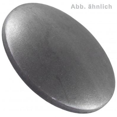 50 Verschlussscheiben 45 mm - DIN 470 - blank