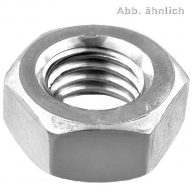 1000 Sechskantmuttern M2,6 - SW5 - Stahl 6.0 - DIN 934