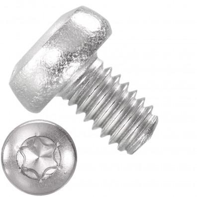 1000 Linsenschrauben M2,5 x 4 mm - DIN 7985 - TX8 - Edelstahl A4