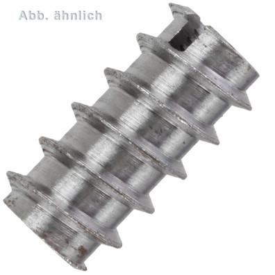 100 Einschraubmuttern M12 x 25mm - DIN 7965