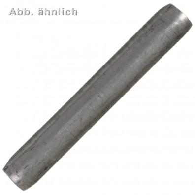 500 Spiral-Spannstifte 8 x 18mm - DIN 7343 - Federbandstahl 1.4310