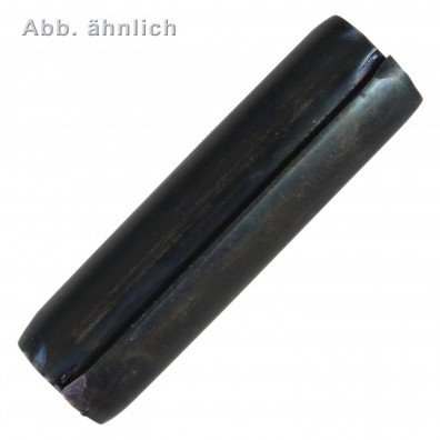 25 Spiral-Spannstifte 14 x 50mm - DIN 7343 - Federstahl