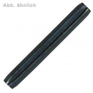 500 Spiral-Spannstifte 4 x 30mm - DIN 7344 - Federstahl