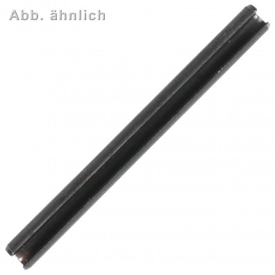 50 Spannstifte 16 x 40mm - DIN 7346 - Federstahl