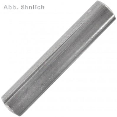 100 Kegelkerbstifte 6 x 40 mm - DIN 1471 - Edelstahl A1