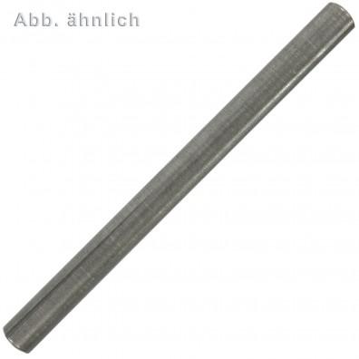 Passkerbstifte DIN 1472 - Stahl - blank