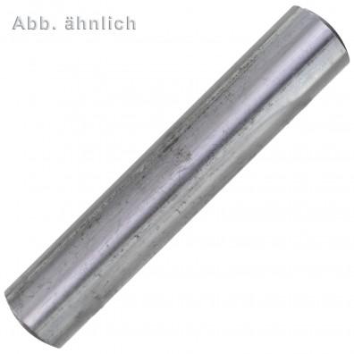 100 Zylinderstifte DIN 7 - ISO 2338 Toleranzfeld m6 Stahl 6 x 8mm