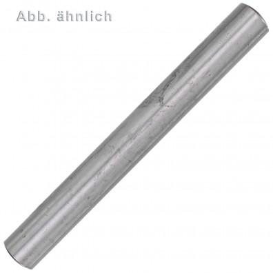 10 Zylinderstifte DIN 7 - ISO 2338 Toleranzfeld m6 Edelstahl A1 16 x 80mm