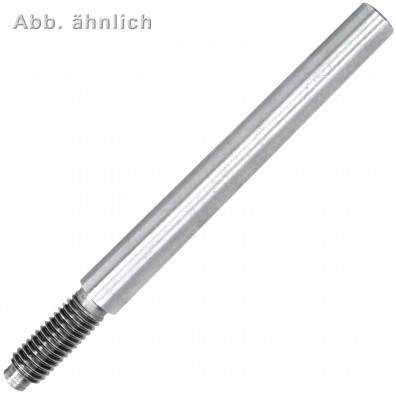 Kegelstifte mit Gewindezapfen - DIN 7977 - Stahl