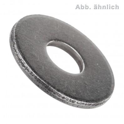 100 Unterlegscheiben DIN 9021 für M8 - Aussen-Ø = 24 mm - Stahl