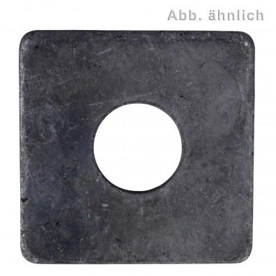 Vierkantscheiben - DIN 436 - blank