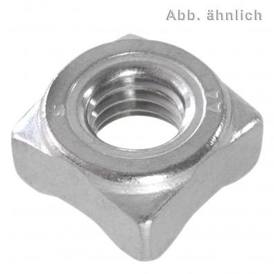 Vierkant-Schweissmuttern DIN 928 A4