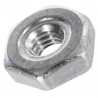 1000 Sechskant-Schweißmuttern DIN 929 A2 M3