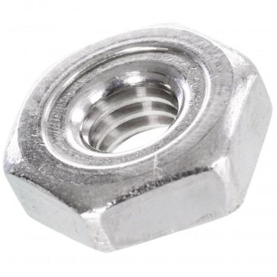 1000 Sechskant-Schweißmuttern DIN 929 A2 M4