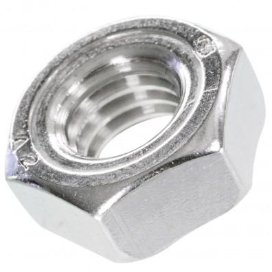 200 Sechskant-Schweißmuttern DIN 929 A2 M8