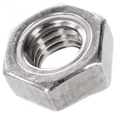 50 Sechskant-Schweißmuttern DIN 929 A2 M12