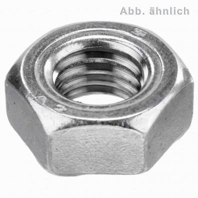 Sechskant-Schweissmuttern DIN 929 A2
